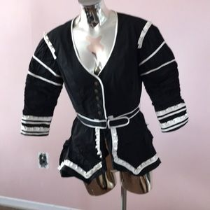 bebe Jackets & Coats - Bebe maids jacket/ 🎃 halloween 👻